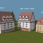 Alps Houses 2-3