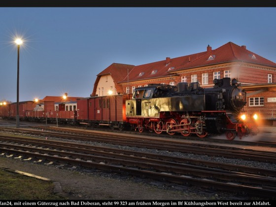 Fotozug Bäderbahn Molli 2020