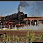"""Sommerfest 2021 beim Eisenbahnmuseum """"Historischer Lokschuppen Wittenberge""""."""