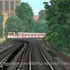 HVV U3 - DT3 auf der Hochbahn
