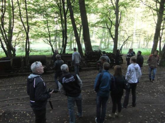 Zwischenstopp bei der Stumpfwaldbahn