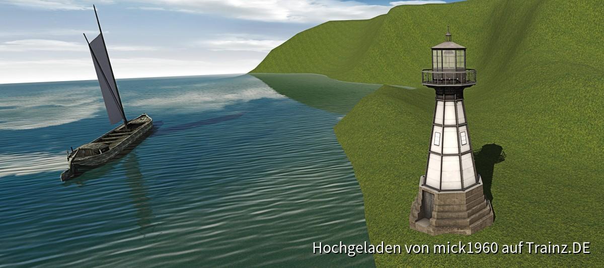 Leuchtbaake zu Neufahrwasser bei Danzig in TRS2019