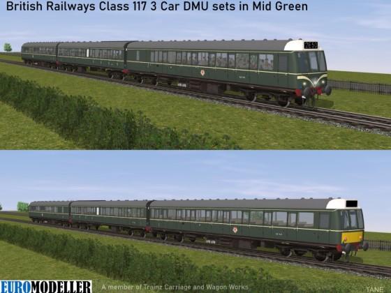 Class 117 Mid Green Promo