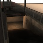 Bahnsteigkram, der irgendwann mal fertig werden soll.