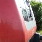 Front eines Dosto-Steuerwagens