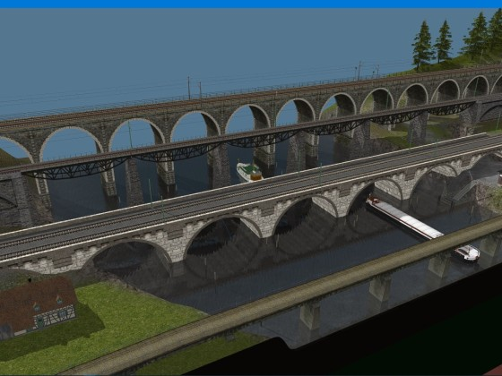 Vierbruecken, 2 new bridges.