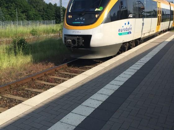 Eurobahn Talent als RB71 Ravensberger Bahn in Rahden