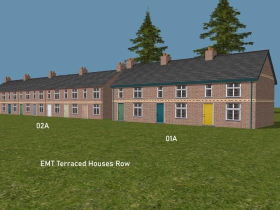 EMT Terraced Houses Row 1a, 2a