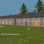 EMT Terraced Houses Row 1a, 2a