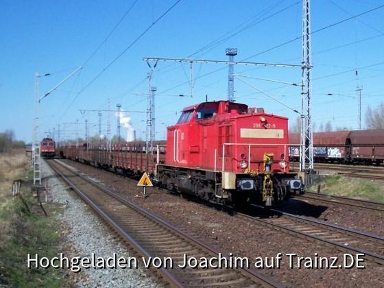 BR 298 mit einem Güterzug