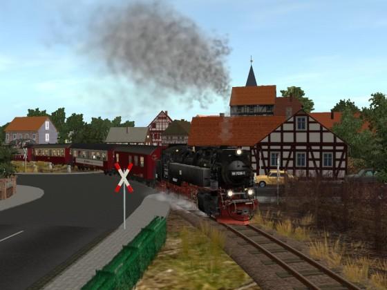 Die Harzer Schmalspurbahn in Wernigerode
