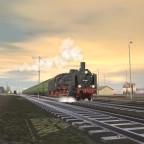 Morning Nahverkehrszug leaving Gleis 7s