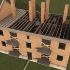 Reihenwohnhaus, zweigeschossig