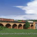 Viereichen-Warden - Eisenbahnbrücke über den Stausee