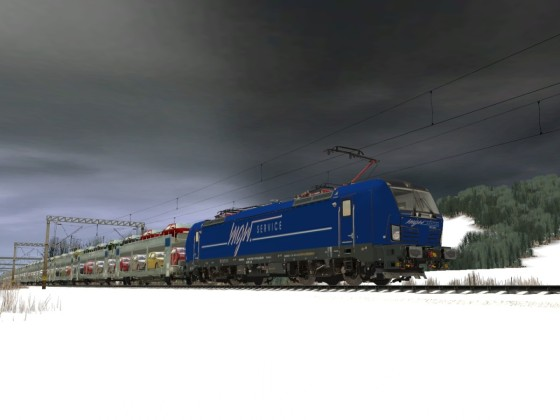 MGW Service 193 219-4 Vectron