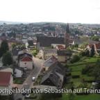 Blick vom Oberkirchener Viadukt