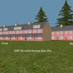 EMT Terraced Houses Row 5a Front and Rear