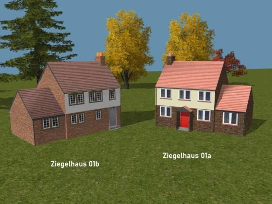 Ziegelhaus 01a + 01b