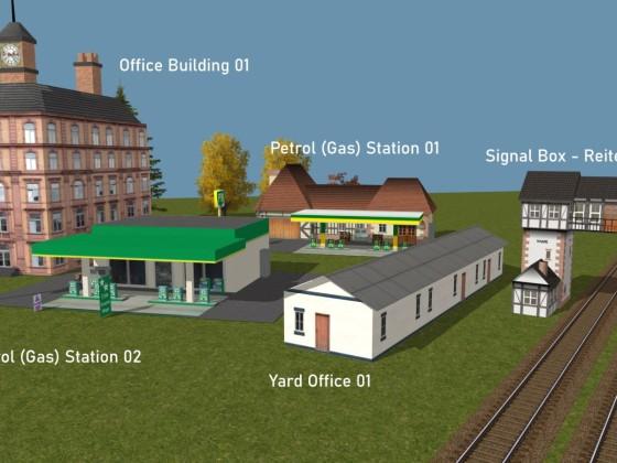 Offices, Petrol Stations, Stellwerk