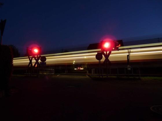Bahnübergang an der Voreifelbahn
