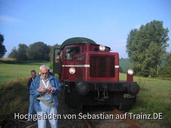 Sonderzug mit Köf und 3yg-Wagen