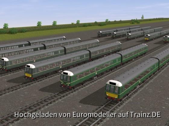 The Class 117 Fleet