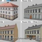 Euromodeller EMT Houses S11 - S12c
