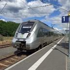 Zug der S-Bahn Mitteldeutschland in Elsterwerda-Biehla