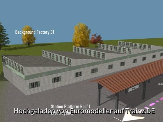 Background Factory, Platform Roof