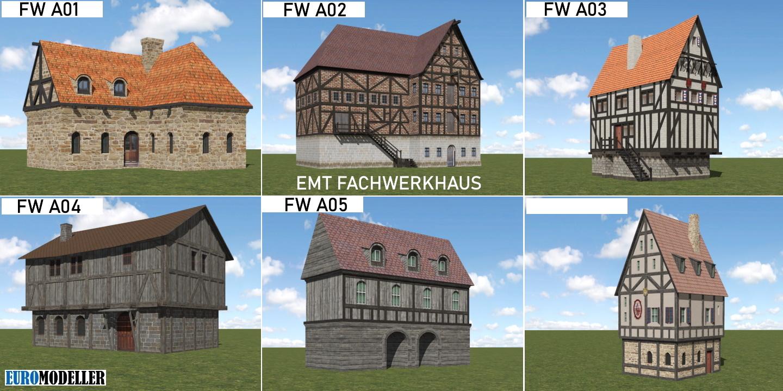 Fachwerkhaus A01-A06