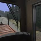 Marias Pass Route - Streckenabschnitt von gestern