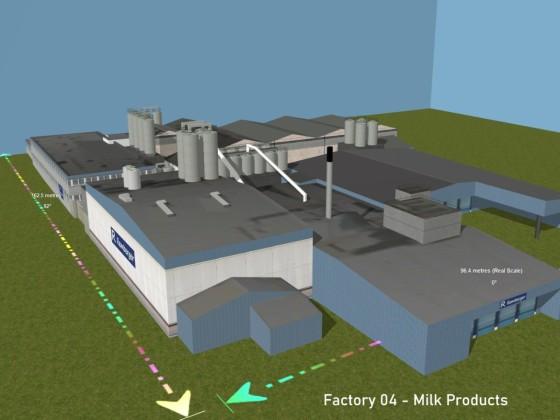 Factory 04 -  Milk Product - Milchprodukt