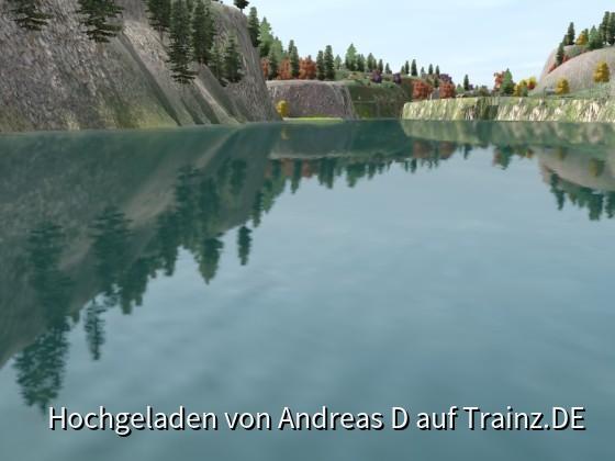 Auch das Wasser sieht gut aus
