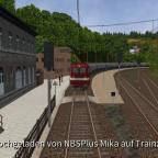 Bahnhof Rübeland - Güterzug ins Tal