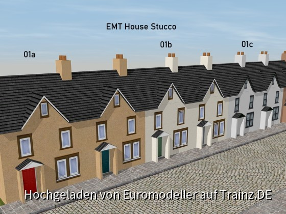 EMT House Stucco Fronts