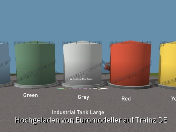 Industrial Tank Large