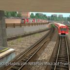 HVV U3 - S- und U-Bahn am Berliner Tor