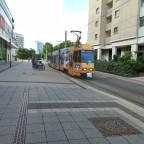 Straßenbahn von Vorne