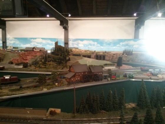 Modellbahn im Eisenbahnmuseum Neustadt