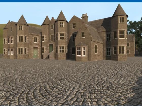 Carrachmuir Castle-2-Main Entrance