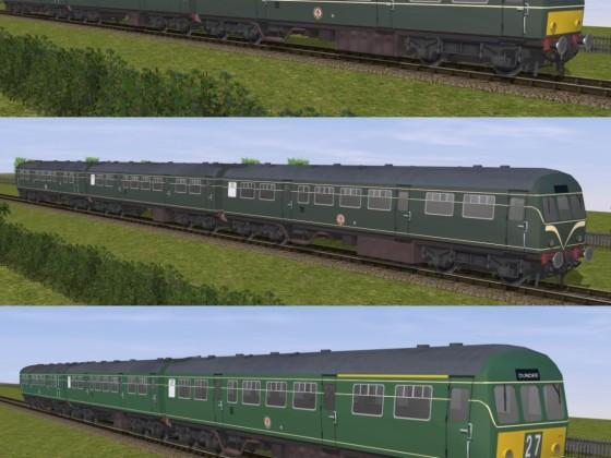 Reskins of a Trainz v1.3 BR Class 101 DMU