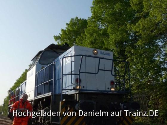 Rangierarbeiten der Rurtalbahn in Zülpich