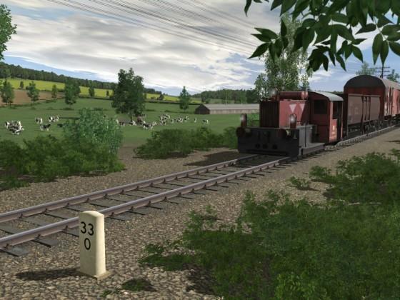 Unterwegs zwischen Derrenberg und Felderbach