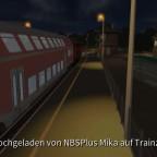 Nächtliche Regionalbahn