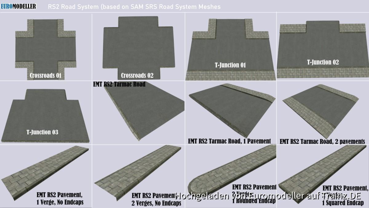EMT RS2 Road System